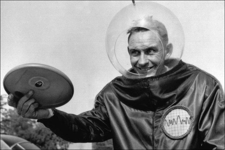 Walter Frederick Morrison frisbee