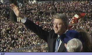 The presidential inauguration in 1993