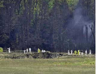 Reports come in of a fourth plane crash in Pennsylvania