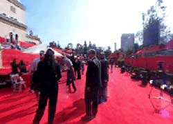Red carpet view 1