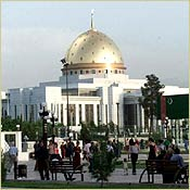 The Presidential Palace in Ashgabat/AP