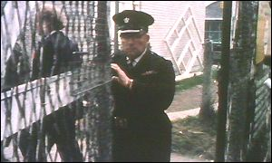 A Camp guard at Long Kesh