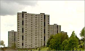 The Sighthill estate