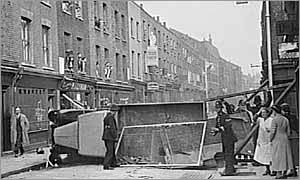 Cable Street on 4 October 1936