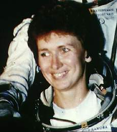 Elena Kondakova spent 169 days in space in 1994