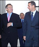 Blair and Assad