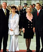 Clintons and the Blairs