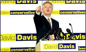 David Davis quit in the early stages