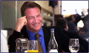 Michael Portillo was the first to enter the race