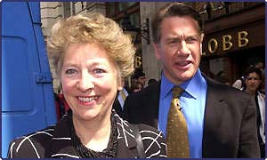 Carolyn and Michael Portillo