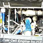 Fuel cell bus engine (DOE/NREL - Richard Parish)