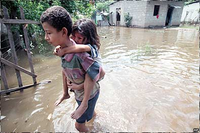 Floods in El Progreso,  Honduras