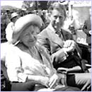 Prince Charles and his grandmother