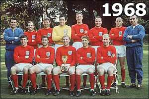 The 1968 England squad