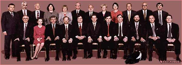 The Cabinet of 1997