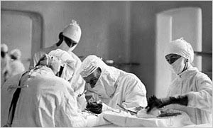 1945: Doctors and nurses