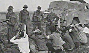 1951: British troops