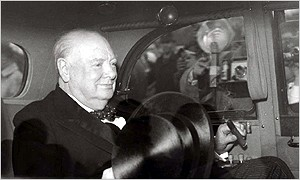 1955: Churchill resigns