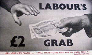 1955: Tory poster