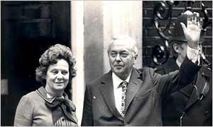 1974 October: Wilson at Downing Street