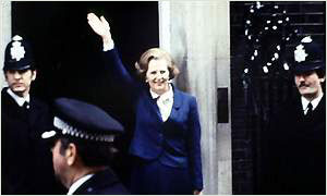 1979: Thatcher at Downing Street