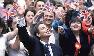 Bbc news vote2001 the election battles 1945 1997