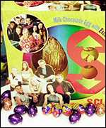 S Club 7 Easter egg