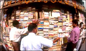 Book shopping in India