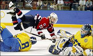USA v Sweden, women's semi-finals