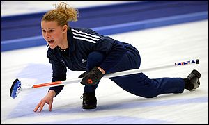Great Britain's Fiona MacDonald in action