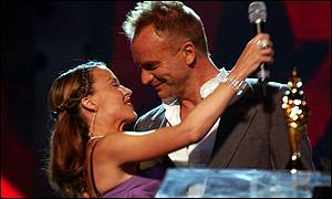Kylie Minogue and Sting