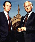 John Thaw and Kevin Whately