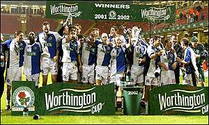 Blackburn were considered to be  the underdogs but won
