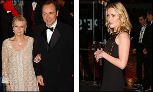 Judi Dench, Kevin Spacey, Kate Winslet