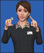 The digital avatars are virtual humans