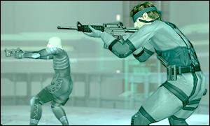 Metal Gear Solid 2: Sons of Liberty offers lush visuals