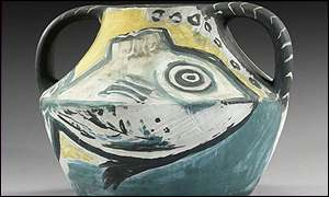Vase Deux Anses Poissons, Picasso � Sotheby's