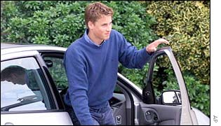 Prince William and his car