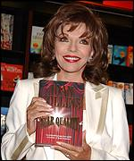 Joan Collins is currently promoting her new novel