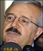 Министр иностранных дел Ирака Наджи Сабри
