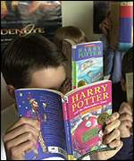 Children are fascinated by the Potter books