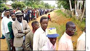 Voter queue