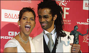 Halle Berry and husband Eric Benet