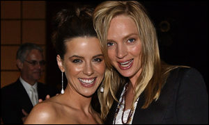 Kate Beckinsale and Uma Thurman
