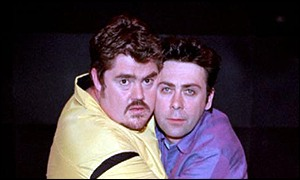 Phill Jupitus and Sean Hughes are regulars on Never Mind the Buzzcocks