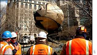 The Sphere in Battery Park, New York