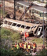 Aftermath, Paddington rail crash
