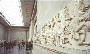 The Elgin Marbles in the British Museum, London
