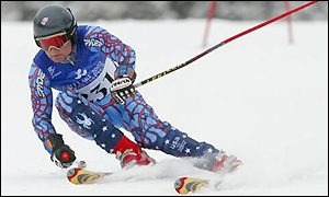 Fox also claimed fifth in the Super-G