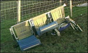 Lockerbie crash aftermath